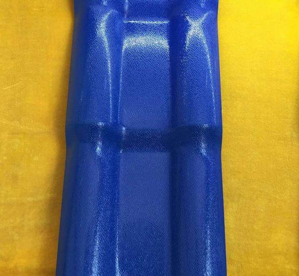 合成树脂瓦蓝色